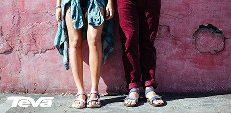 Teva sandalen, een begrip!